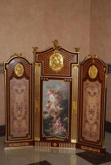 Paravan stil Louis XVI