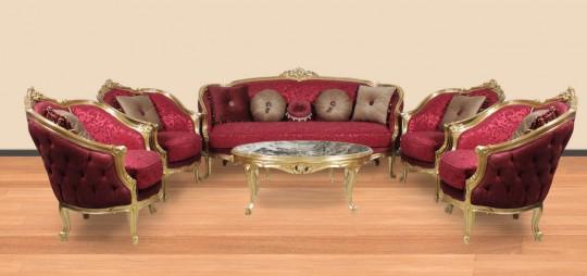 Salon stil Louis XV